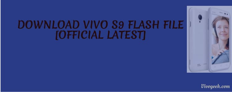 vivo s9 flash fil