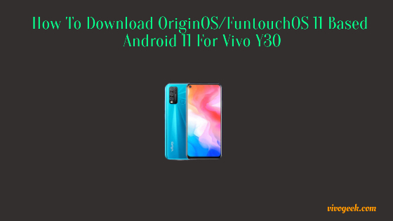 FuntouchOS 11 for Vivo Y30
